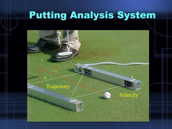 Putting Analysis System