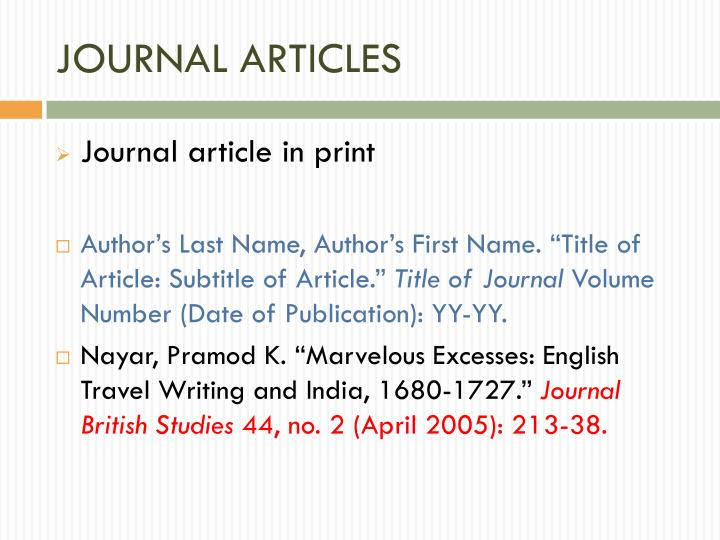 JOURNAL ARTICLES