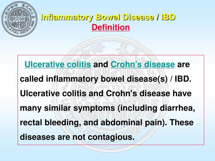 Inflammatory Bowel Disease / IBD