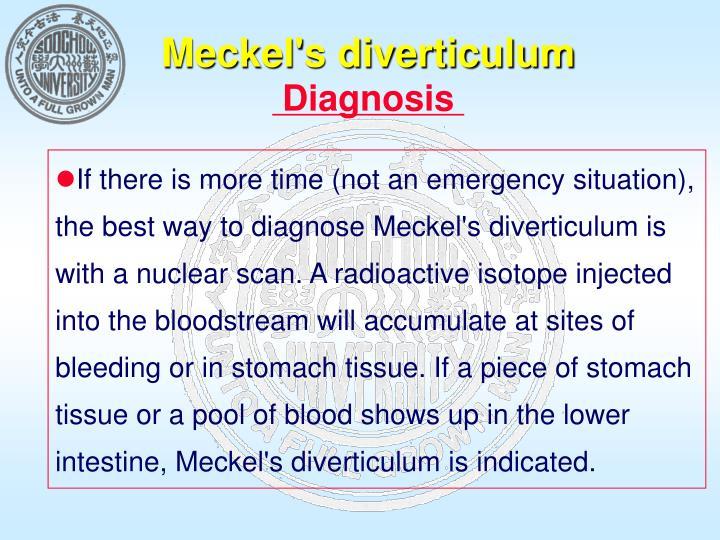 Meckel's diverticulum