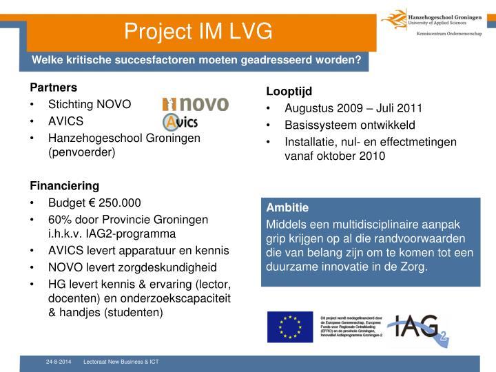 Project IM LVG
