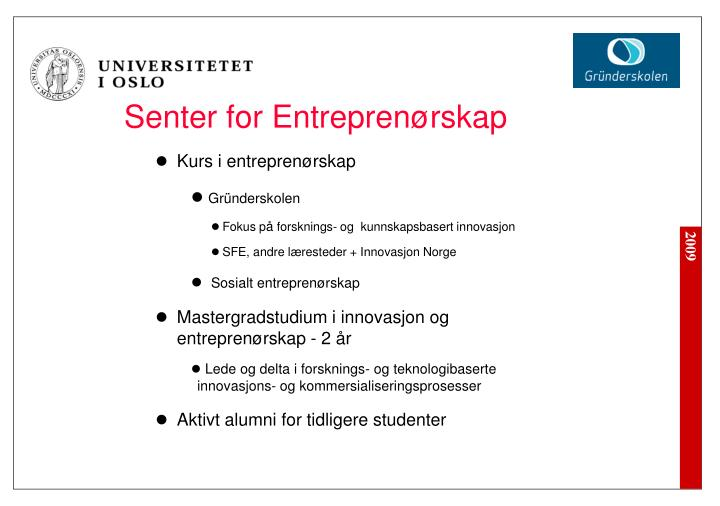 Senter for Entrepren
