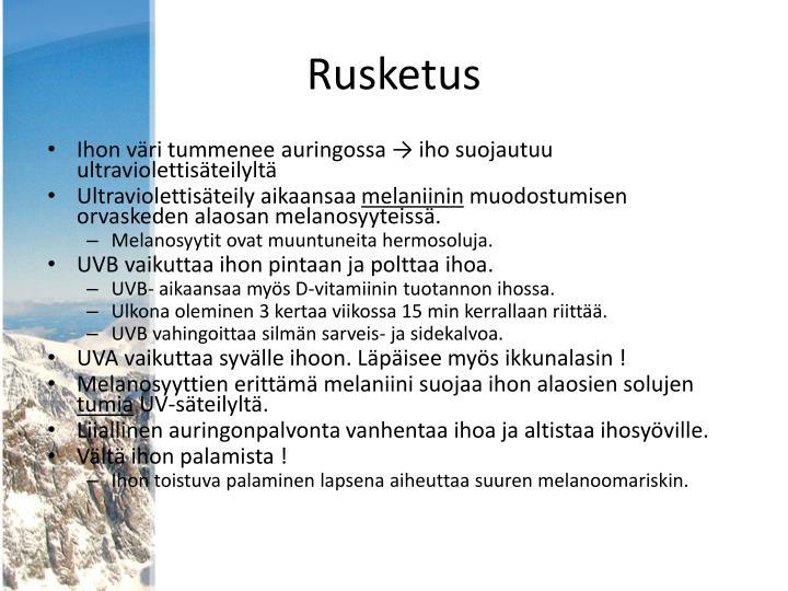 Rusketus