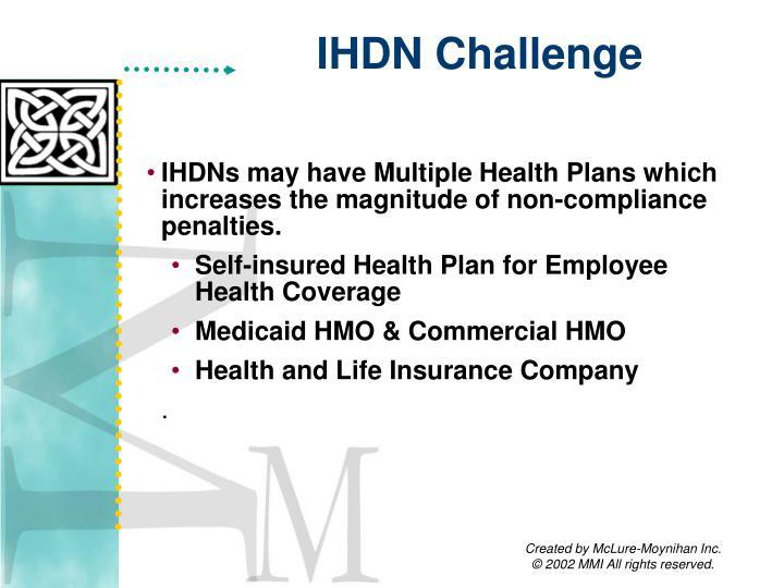 IHDN Challenge