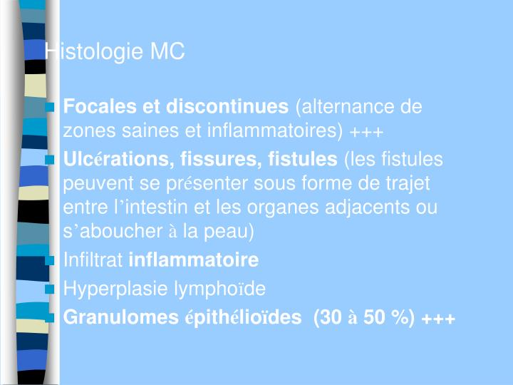 Histologie MC