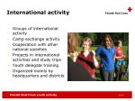 international activity1
