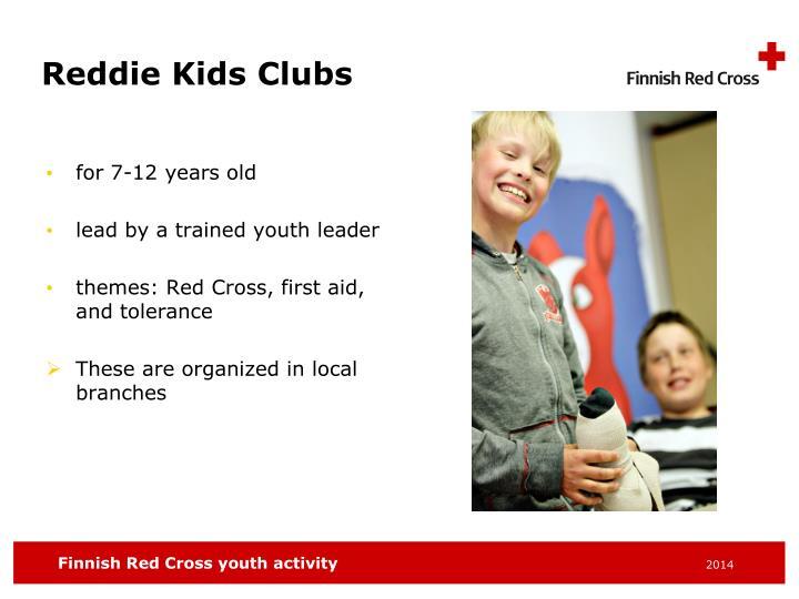 Reddie Kids Clubs