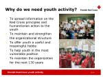 why do we need youth activity
