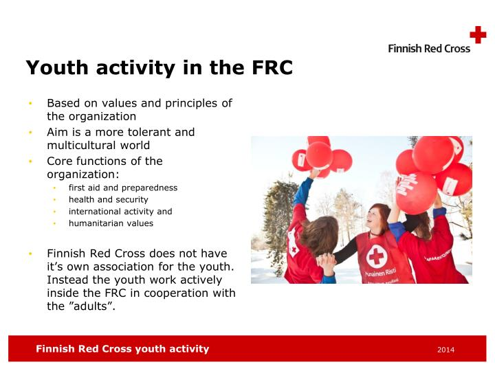 Youth activity in the FRC