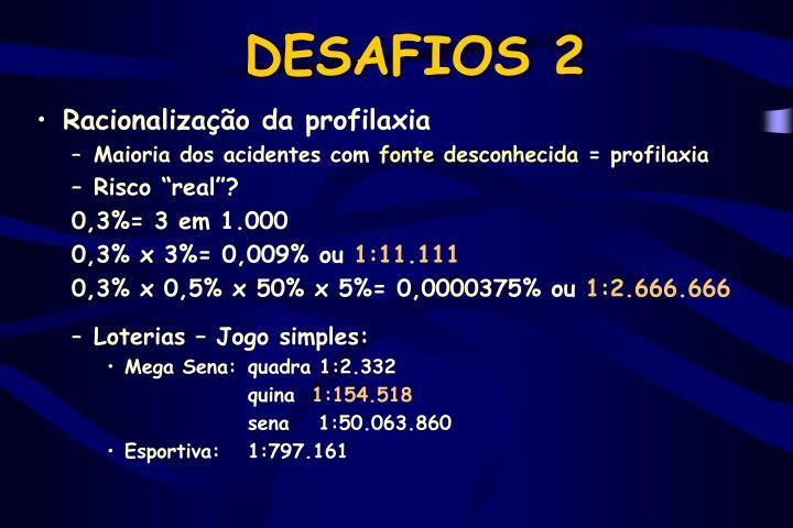 DESAFIOS 2