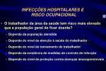 infec es hospitalares e risco ocupacional1