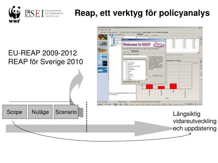 Reap, ett verktyg för policyanalys