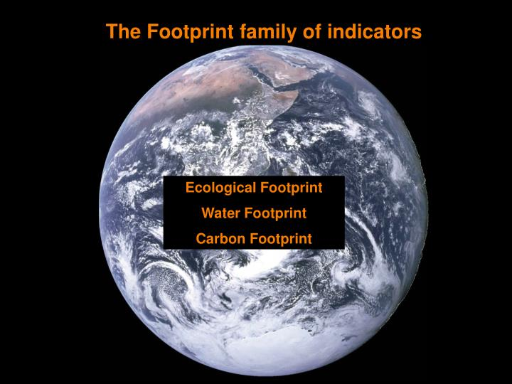 The Footprint family of indicators