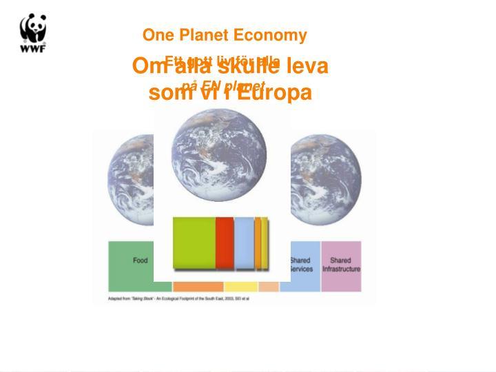 One Planet Economy