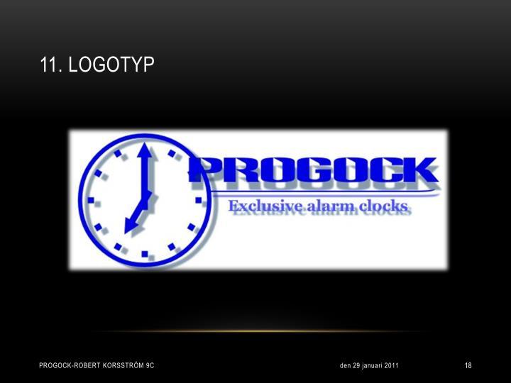 11. Logotyp