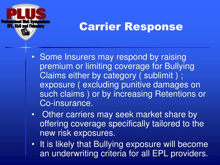 Carrier Response