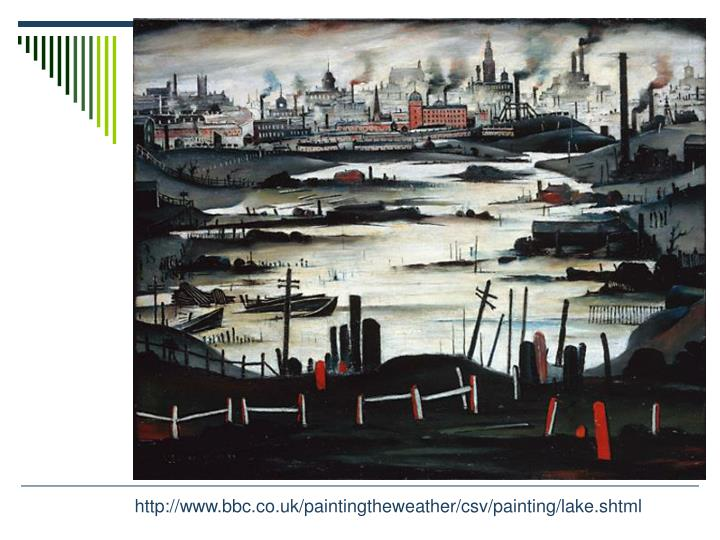 http://www.bbc.co.uk/paintingtheweather/csv/painting/lake.shtml