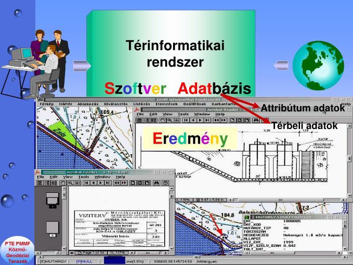 Trinformatikai rendszer