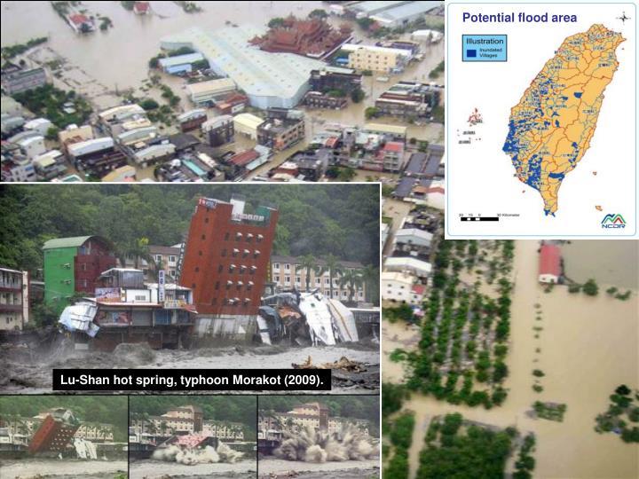 Potential flood area