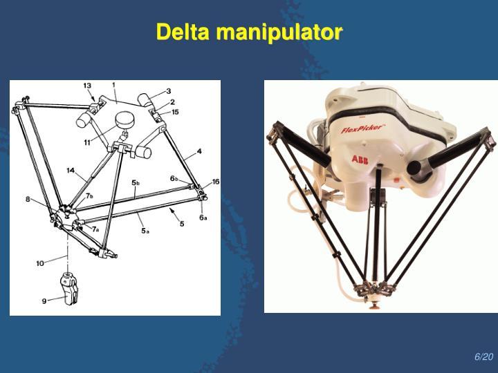 Delta manipulator