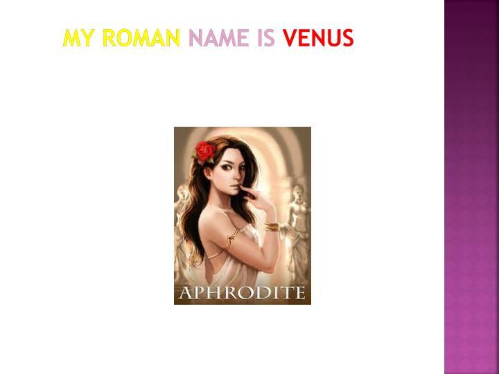 My roman