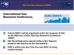 igu and gas research igrc