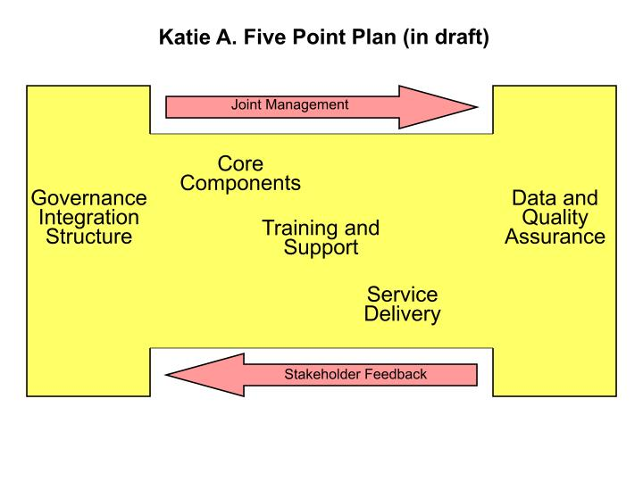 Katie A. Five Point Plan (in draft)
