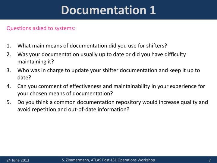 Documentation 1