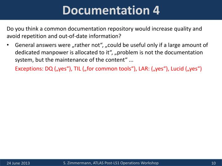 Documentation 4