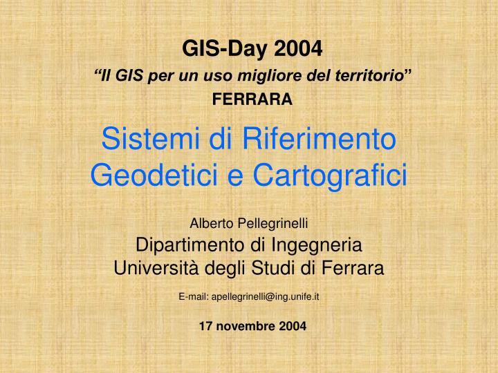 GIS-Day 2004