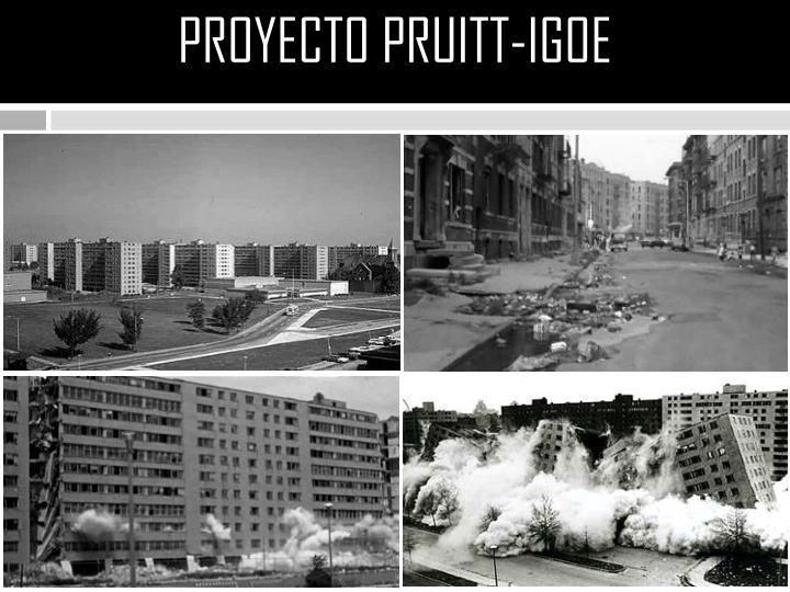 PROYECTO PRUITT-IGOE