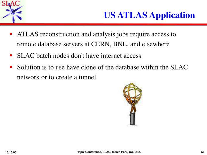 US ATLAS Application