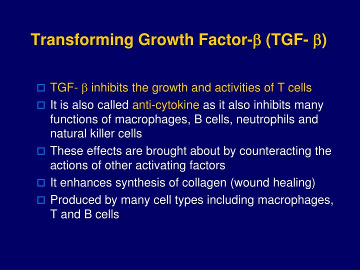 Transforming Growth Factor-