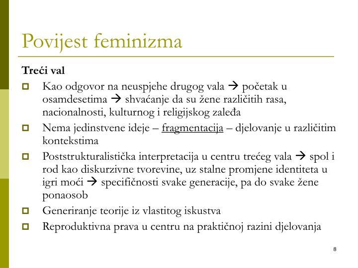 Povijest feminizma