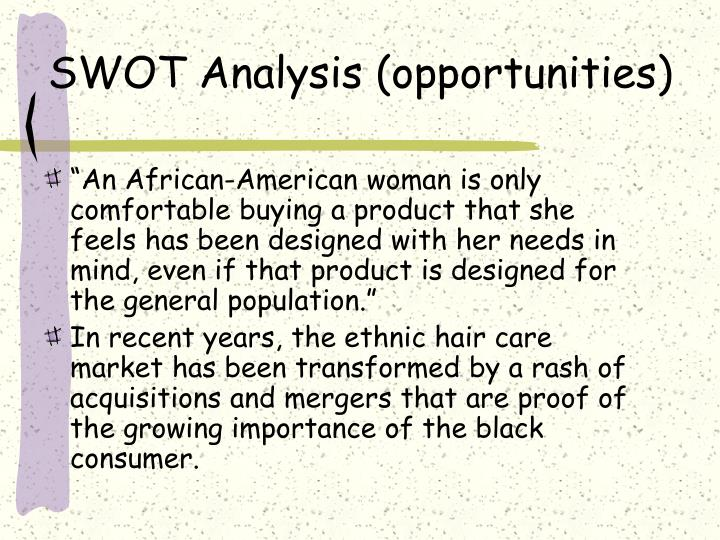SWOT Analysis (opportunities)