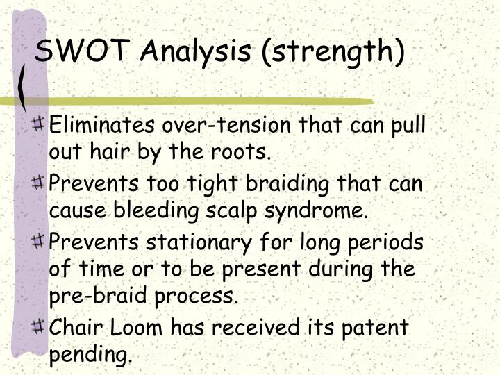 SWOT Analysis (strength)