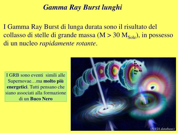 Gamma Ray Burst lunghi