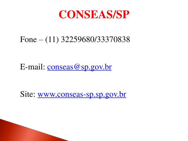 CONSEAS/SP