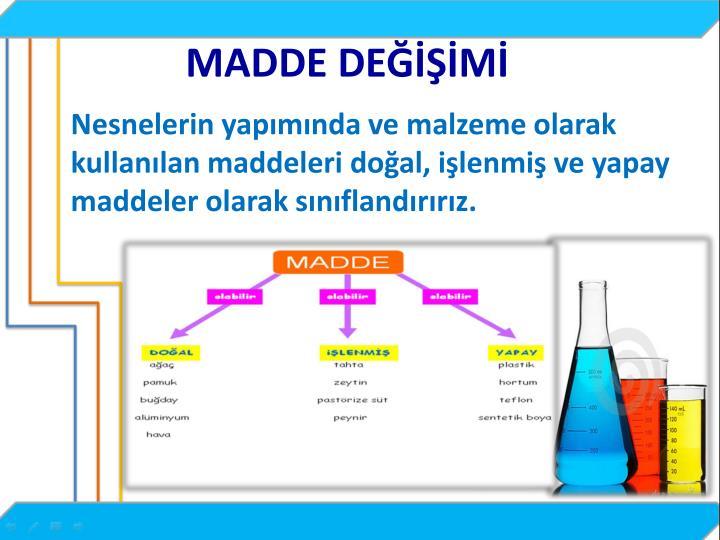 MADDE DEM