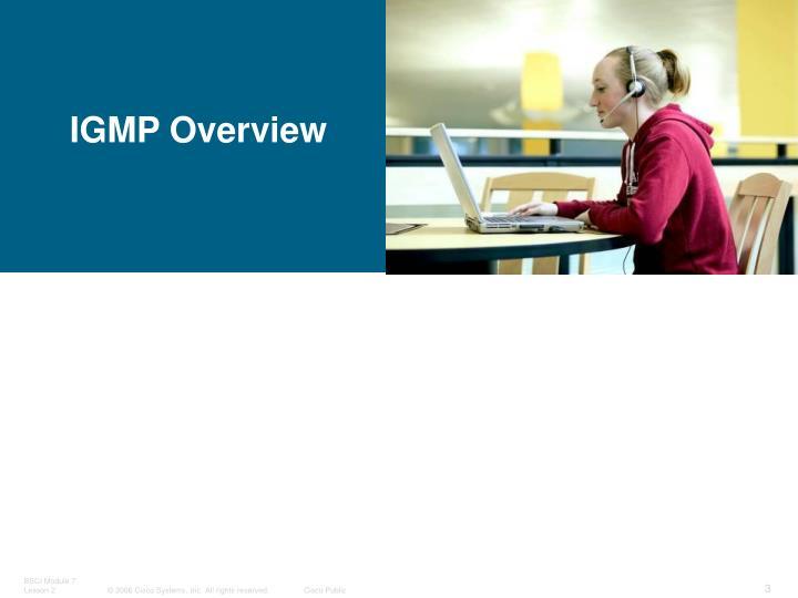 IGMP Overview