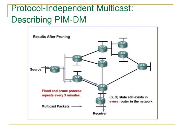Protocol-Independent Multicast: Describing PIM-DM