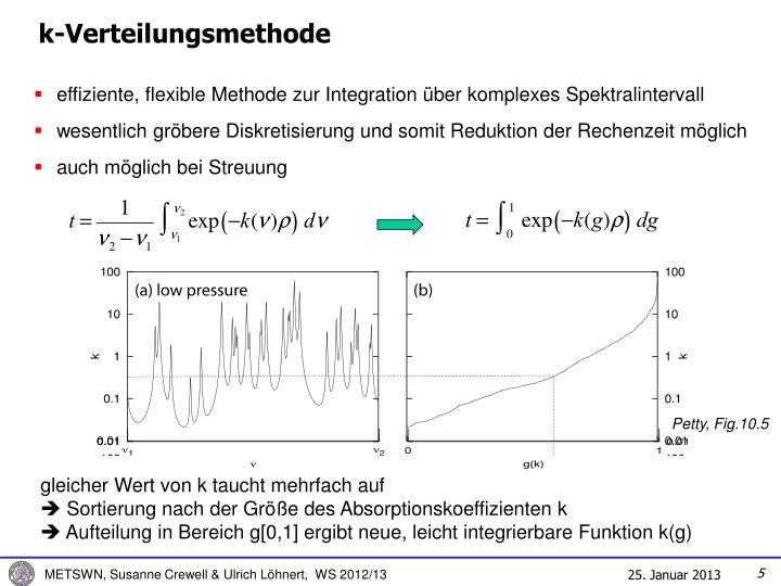 k-Verteilungsmethode