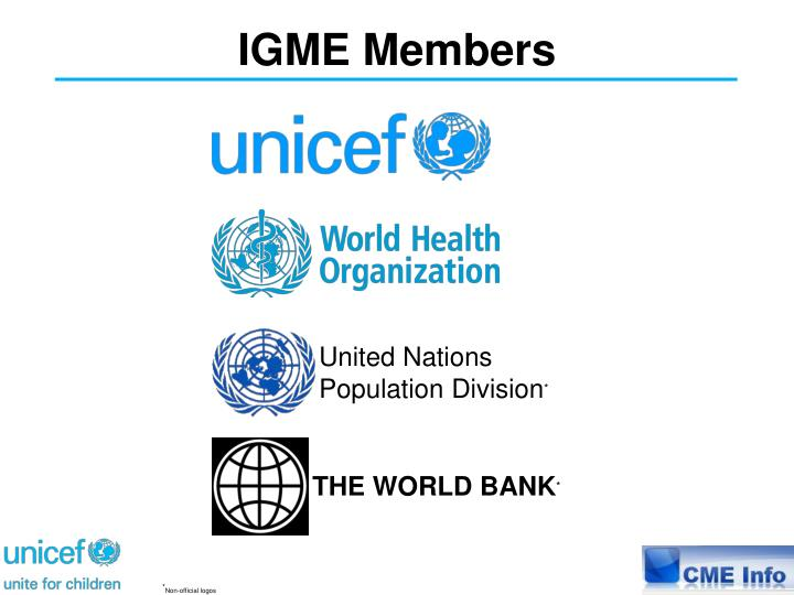 IGME Members