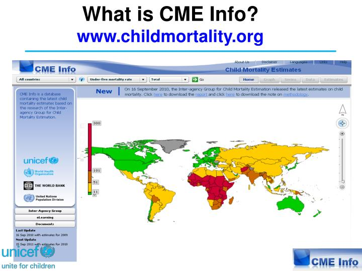 What is CME Info?