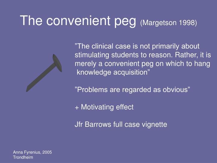 The convenient peg