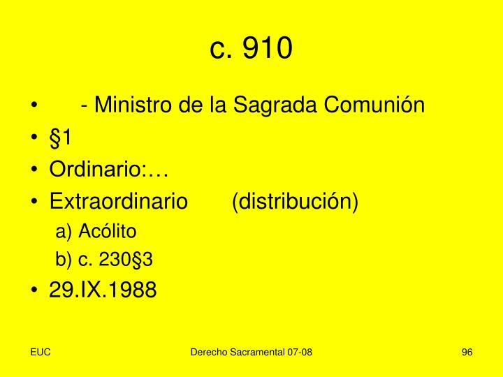 c. 910