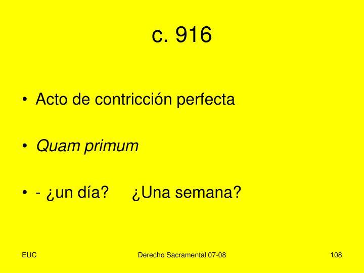 c. 916