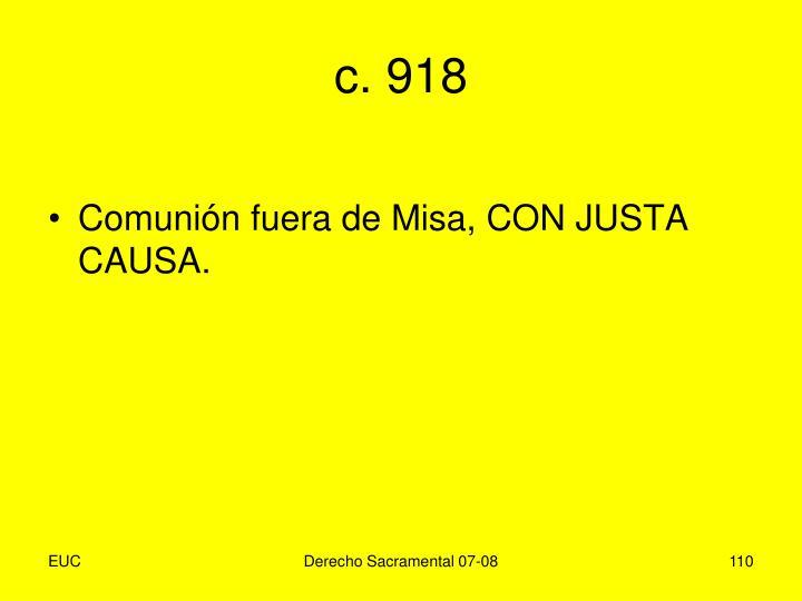 c. 918