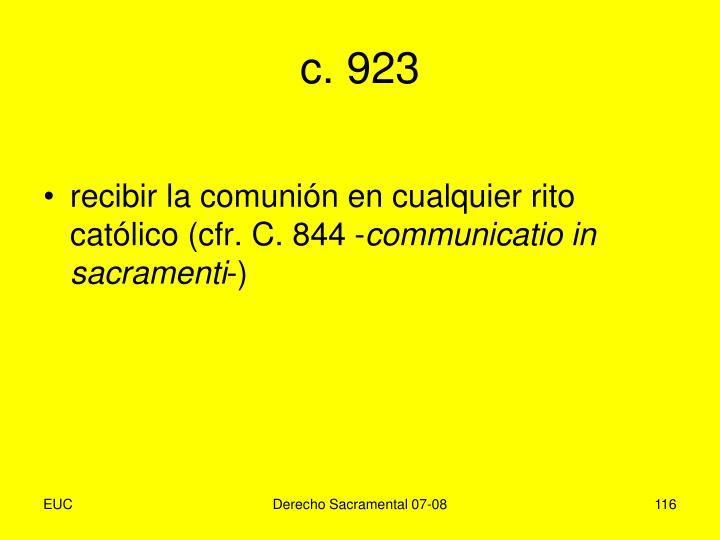 c. 923