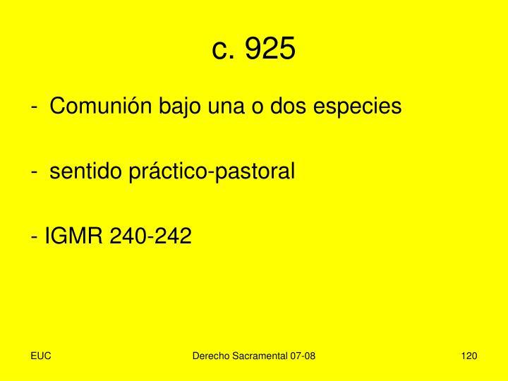 c. 925